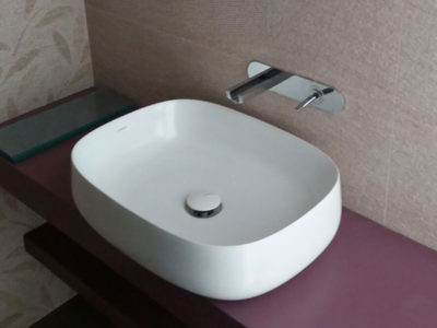 Sanitery basin installation